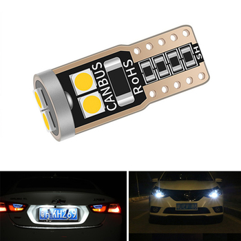 Canbus T10 W5W LED Car Clearance Parking Light No Error For BMW E46 E39 E90 E60 E36 F30 F10 E30 E34 X5 E53 M F20 X3 E87 E70 X6 image