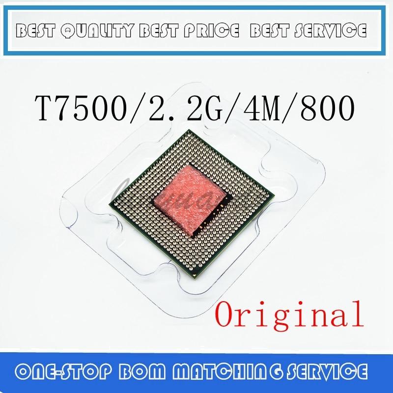 Core 2 Duo T7500 CPU 4M Socket 479 Cache/2.2GHz/800/Dual-Core Laptop Processor