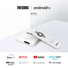 Mecool km2 netflix 4k android caixa de tv amlogic s905x2 2gb ddr4 usb3.0 spdif ethernet wifi vídeo principal hdr 10 widevine l1 tvbox
