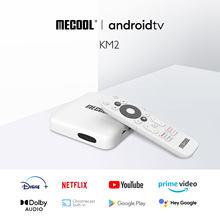 Mecool KM2 Netflix 4K Android TV Box Amlogic S905X2 2GB DDR4 USB3.0 SPDIF Ethernet WiFi Prime Video HDR 10 Widevine L1 TVBOX