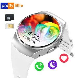 Умные часы KW18 с Bluetooth, мужские Смарт-часы с полноэкранным экраном, поддержкой SIM-карты, TF, пульсометром для IOS, IPhone, Android, Samsung PK KW88