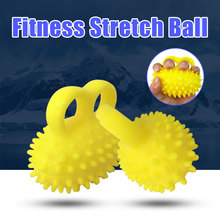 Hand Grip Isolation and Decompression Toys Rehabilitation Training Fingers Massage Fitness Ball Stroke Hemiplegia Hand Grip