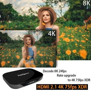 Image 4 - Amlogic S905X3 Android 9.0 TV Box 4GB 32GB 64GB 128G 2.4G&5.8Gwifi 4K 8K 24fps  Bluetooth Voice Assistan  Set Top Box