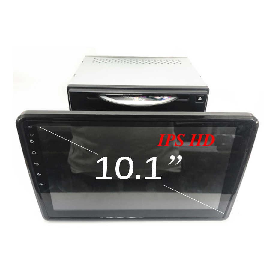 """4G + 64G 8 DSP 10.1 """"IPS Đa Năng 2 DIN Android 9.0 DVD Xe Hơi Đa Phương Tiện định Vị GPS Đài Phát Thanh Xe Volkswagen/VW/Toyota/Nissan OBD2"""
