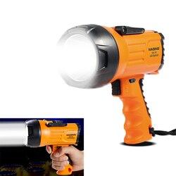 Projecteur portatif Rechargeable LED, lampe d'extérieur Portable, lampe de travail d'urgence, 10 w, 815 Lumens, 1000 Lumens