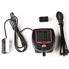 цена на Waterproof LCD Bike Computer Bicycle Speedometer Odometer Peed Meter Cyclopometer Inbike Cycling Speed Computer