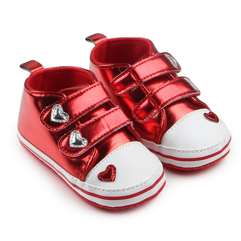 0-18 Months Newborn Baby Shoes Boys Breathable  Girls Baby Sneakers Casual  Kids Toddler Rose Gold Shoes