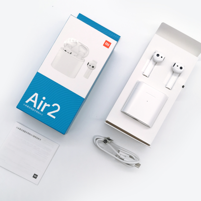 Original Xiaomi aire TWS auriculares Bluetooth 2 Airdots pro 2 Xiaomi inteligente de Control de voz LHDC HD sonido dinámico Tap Control ENC - 5
