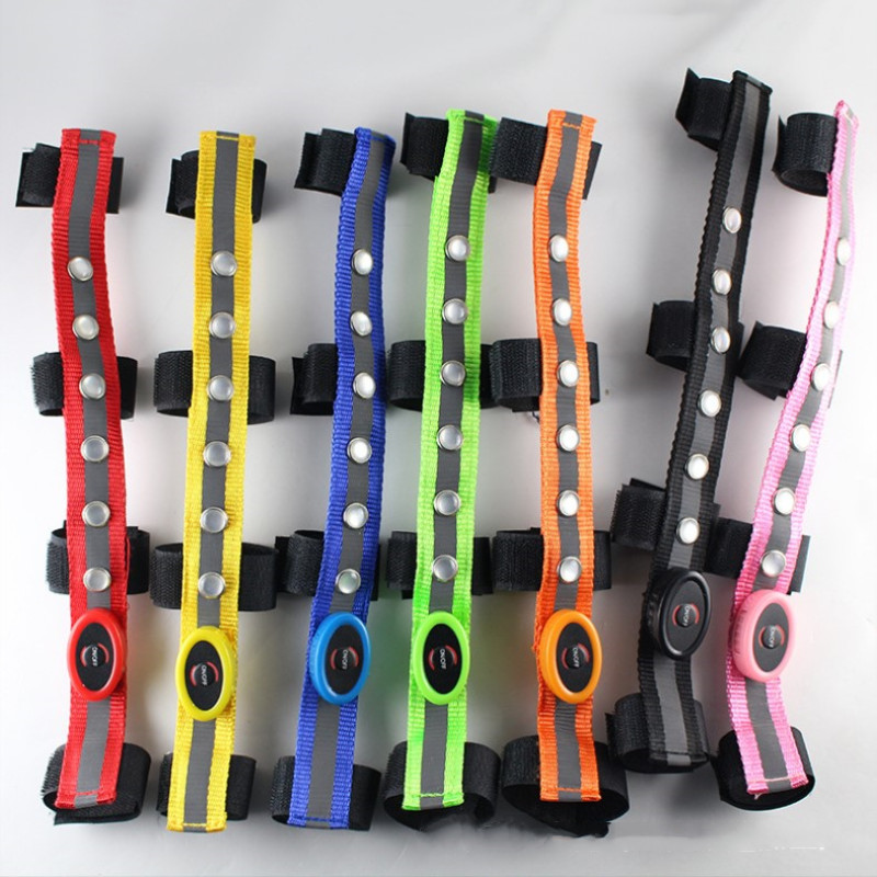 Cool Colorful LED Equestrian Head With Multi-function Outdoor Sports Light Straps Luminous Tube Strap Saddle Head Accessories