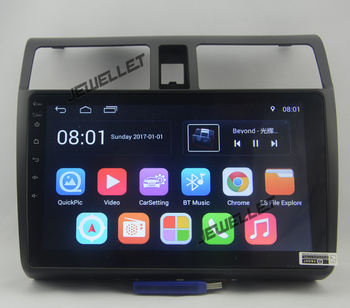 10.1 octa-core 1280*720 QLED screen Android 10 Car GPS radio Navigation for Suzuki Swift 2005-2010 with 3G/Wifi DVR OBD image