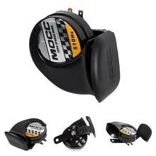 12V Motorcycle Horn Siren Loud 510Hz 130dB Waterproof Snail Air Horn Speaker Motorcycle Electric Accessories Universal