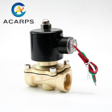 "1/2"" 3/4"" Low Pressure 10bar Brass Water Gas Solenoid Valve 24VAC 110VAC 12VDC  EPDM Seal"
