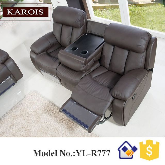 3 PC Living Room Furniture Home Theater Grouping  4