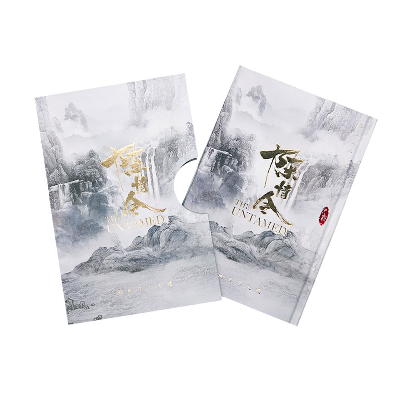 Chen Qing Ling Soundtrack The Untamed Official Music CD Book With TV Character Picture Album Gifts