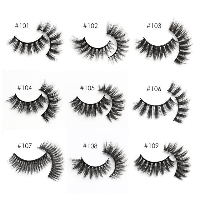 YSDO Eyelashes Wholesale 10/20/50/100 PCS 3d Mink Eyelashes Natural Mink Lashes Wholesale False Eyelashes Makeup Lashes In Bulk 4