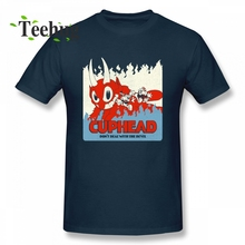 Dont Deal With The Devil T Shirt Cuphead Boy Leisure Top Design For Man Graphic