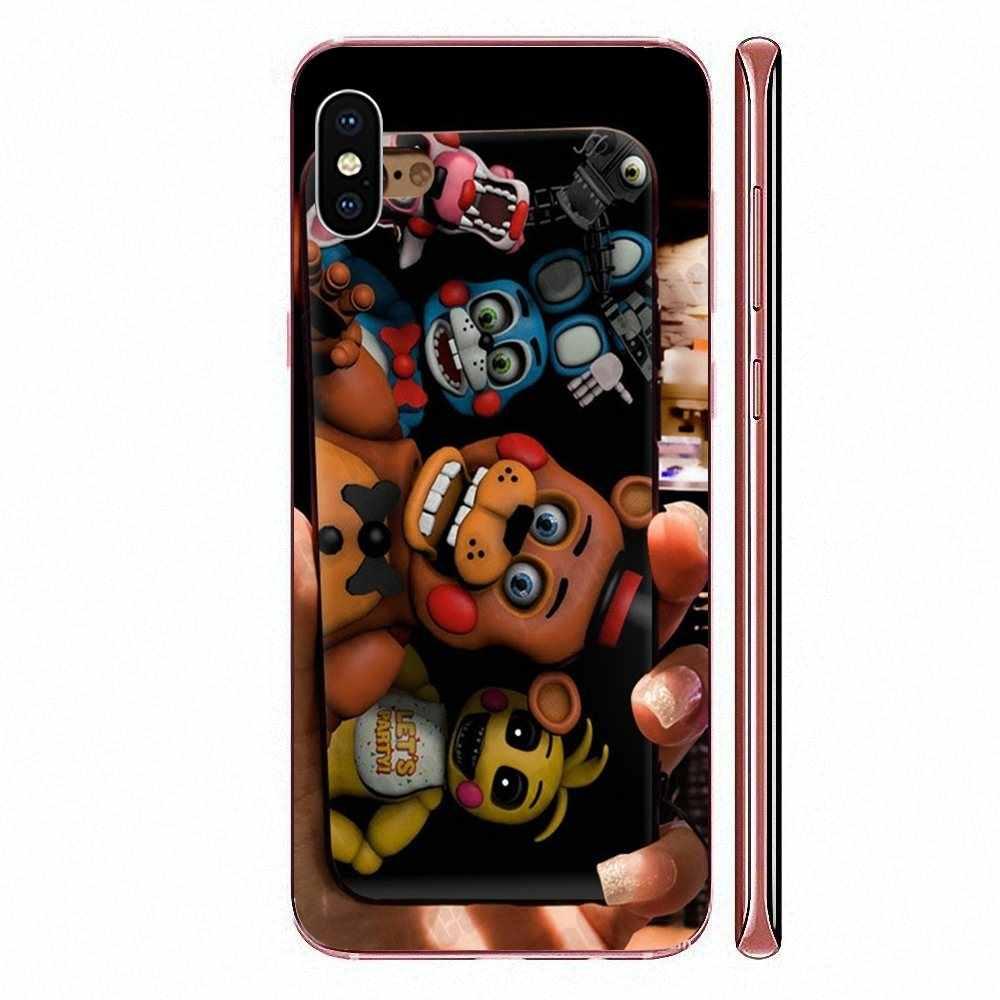 Śliczne przypadki telefonów dla Sony Xperia Z1 Z2 Z3 Z4 Z5 kompaktowy Mini M2 M4 M5 T3 E3 E5 XA XA1 XZ Premium śmieszne Sfm Fnaf animatronika