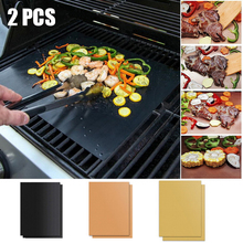 Bbq-Grill-Pads Tools Cooking-Plate Ptfe Party-Grill Non-Stick Reusable for Mat 40--33cm