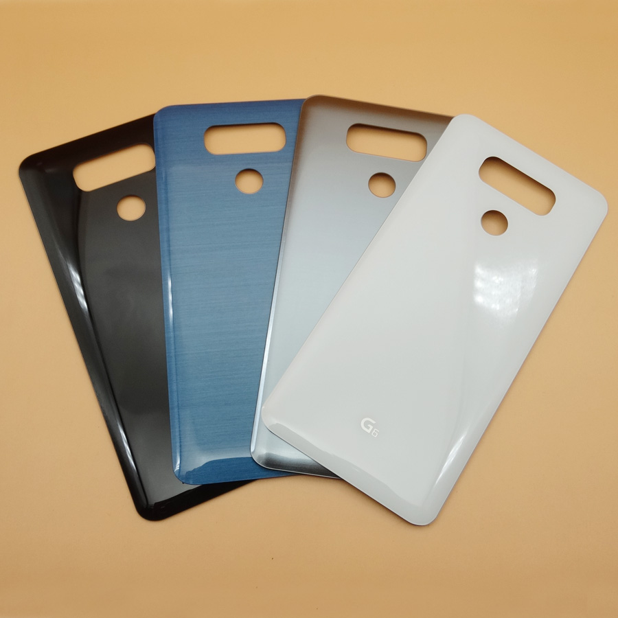 New Glass Battery Cover For <font><b>LG</b></font> <font><b>G6</b></font> H870 H870DS H871 H872 <font><b>H873</b></font> LS993 US997 Rear Housing Back Door Case Parts With Adhesive Sticker image