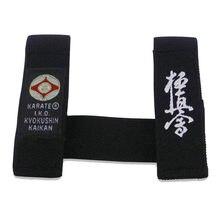 Sinobudo wko shinkyokushin karate cinto fixador iko kyokushin karate cinto fixo retentor preto fixador de cinto