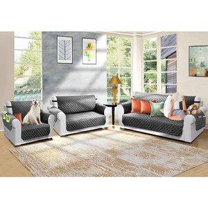 Image 2 - Секционные чехлы для диванов, детские коврики для собак, эластичные чехлы для диванов, защита для мебели, водонепроницаемость, противоскользящие