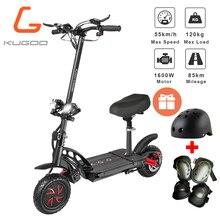 [Европа фото] KUGOO G-Booster складной электрический скутер для взрослых 48V 23Ah 1600 Вт Мотор Max 85 км 55км/ч e скутер лучше M365