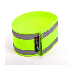 Riding Super Reflective Safety Elastic Leggings With Mountain Bike Beam Trousers Night Running Arm Band