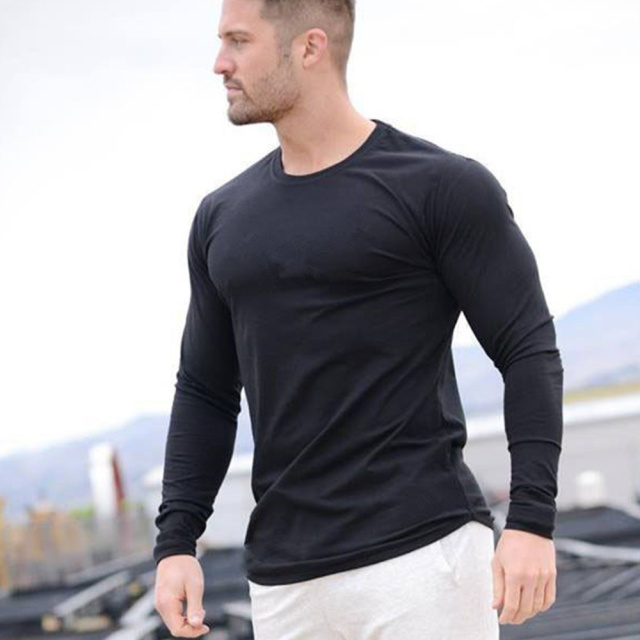 Long Sleeve Muscle Tshirt