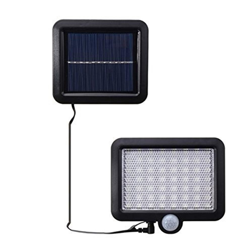 Lámparas solares Led para jardín, jardín, exteriores, 56 LEDs, luz Solar, movimiento, calle, pared, lámparas, garage, interior, hogar, focos, candelabro