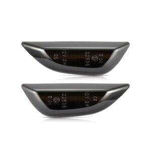 Image 2 - Voor Opel Mokka Voor Opel Mokka X Voor Chevrolet Trax Led Dynamische Side Marker Light Sequential Blinker Richtingaanwijzer lampen