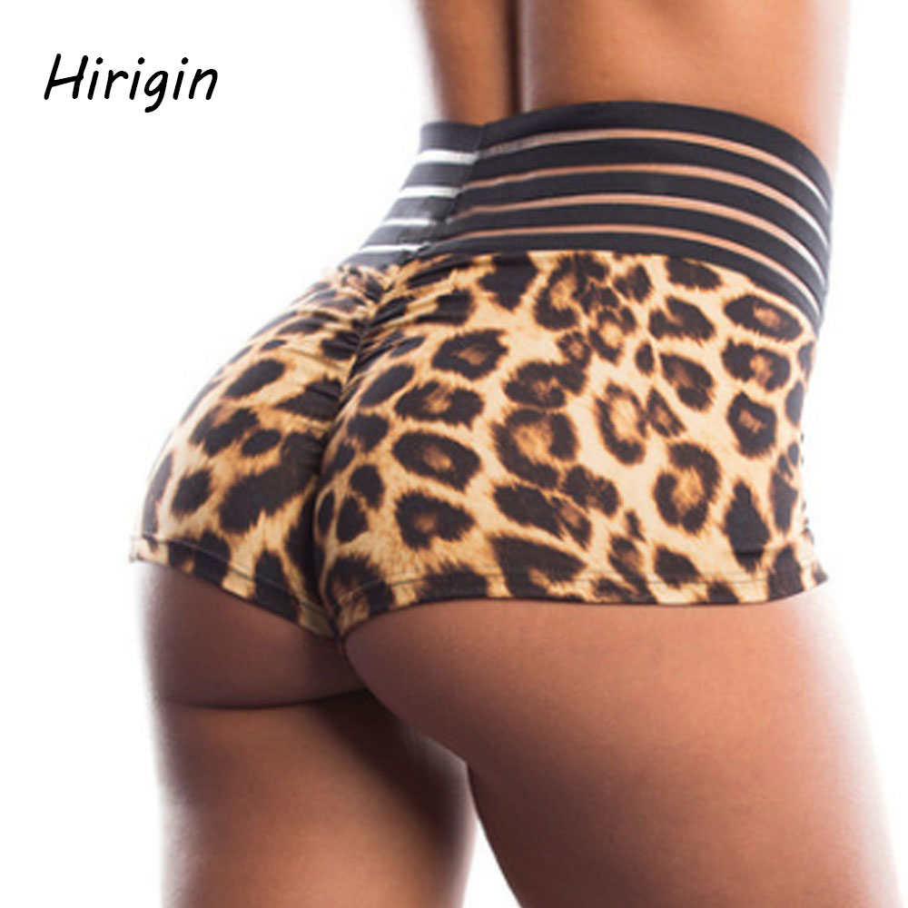 Sexy Hot Shorts Women Shorts Summer Beach Charming Casual Lady's Short Feminino Leopard Print Hotpant Pantalon For 2020 Summer