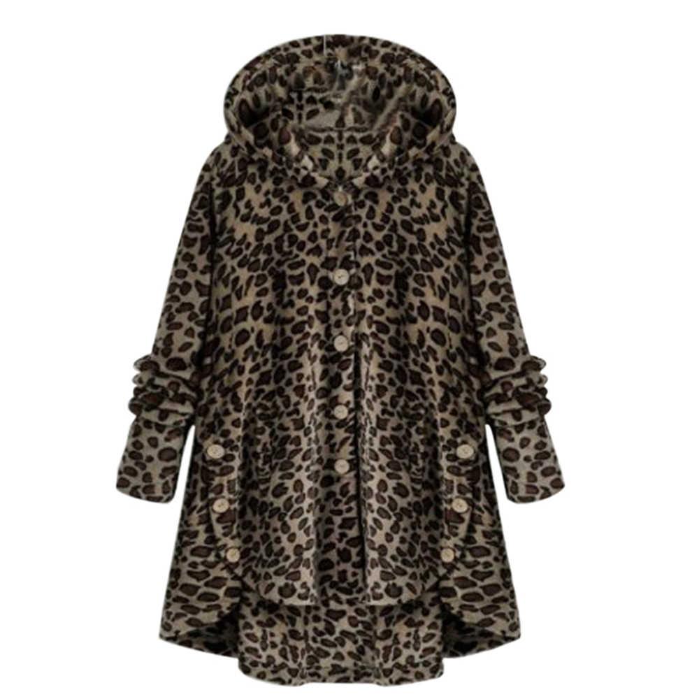 5Xl 2019 겨울 자 켓 새로운 패션 여성 단추 봉 제 셔츠 자 켓 불규칙 한 색상 여성 모피 코트 플러스 크기 여성 파 카