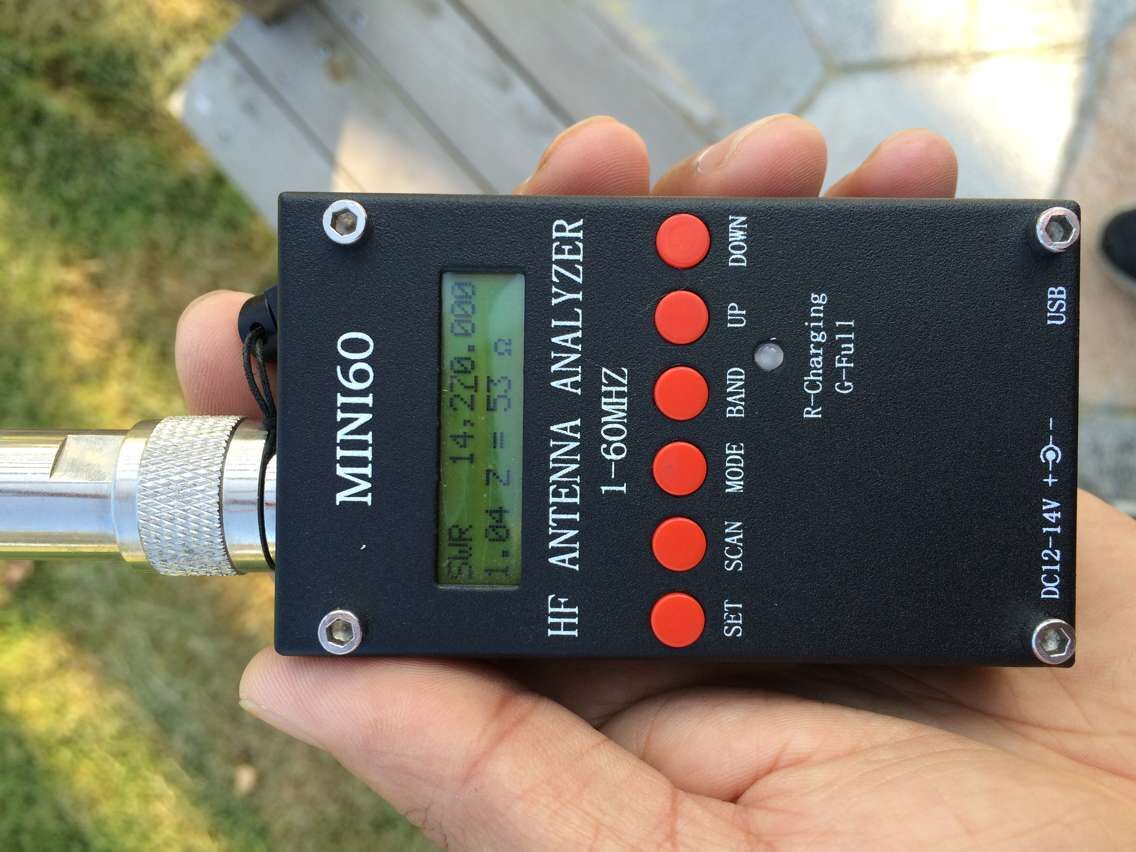 SARK-100 MINI60S Shortwave Antenna Analyzer