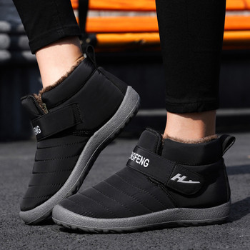 Winter Ankle Short Bootie Waterproof Footwear Warm Shoes Women's Snow Boots Warm Short Plush Winter Ankle Boots#g30 7