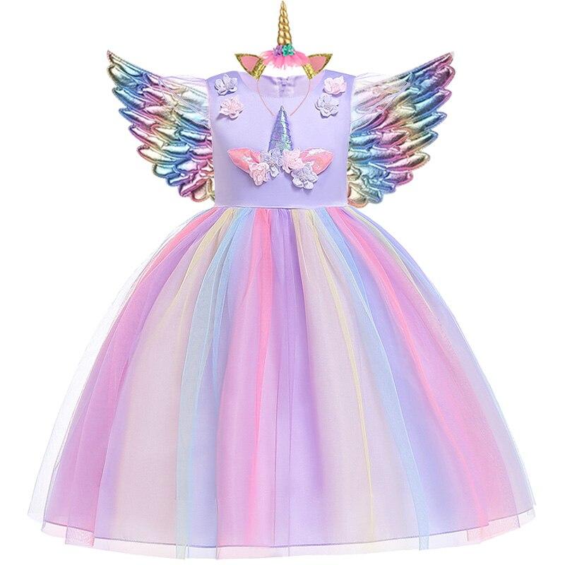 Tüdrukute Ükssarvik kostüüm 1