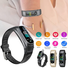 Smart Watch untuk Android IOS Headset Olahraga Kalori Gelang Smart Watch Kebugaran Tracker Jam Alarm Wanita Смарт Часы(China)