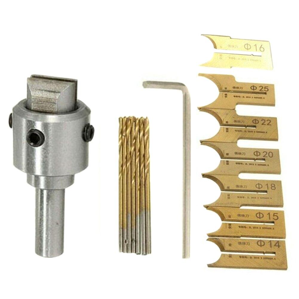 Wooden Bead Maker Beads Drill Bit Milling Cutter Set Woodworking Tool Kit QJS Shop