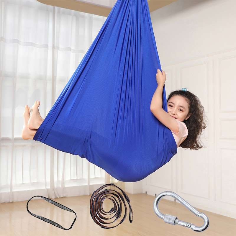 Therapy Swing Set For Kids Children Hammock Indoor Gym Home Room Sensory Toys For Special Needs ADHD Autism