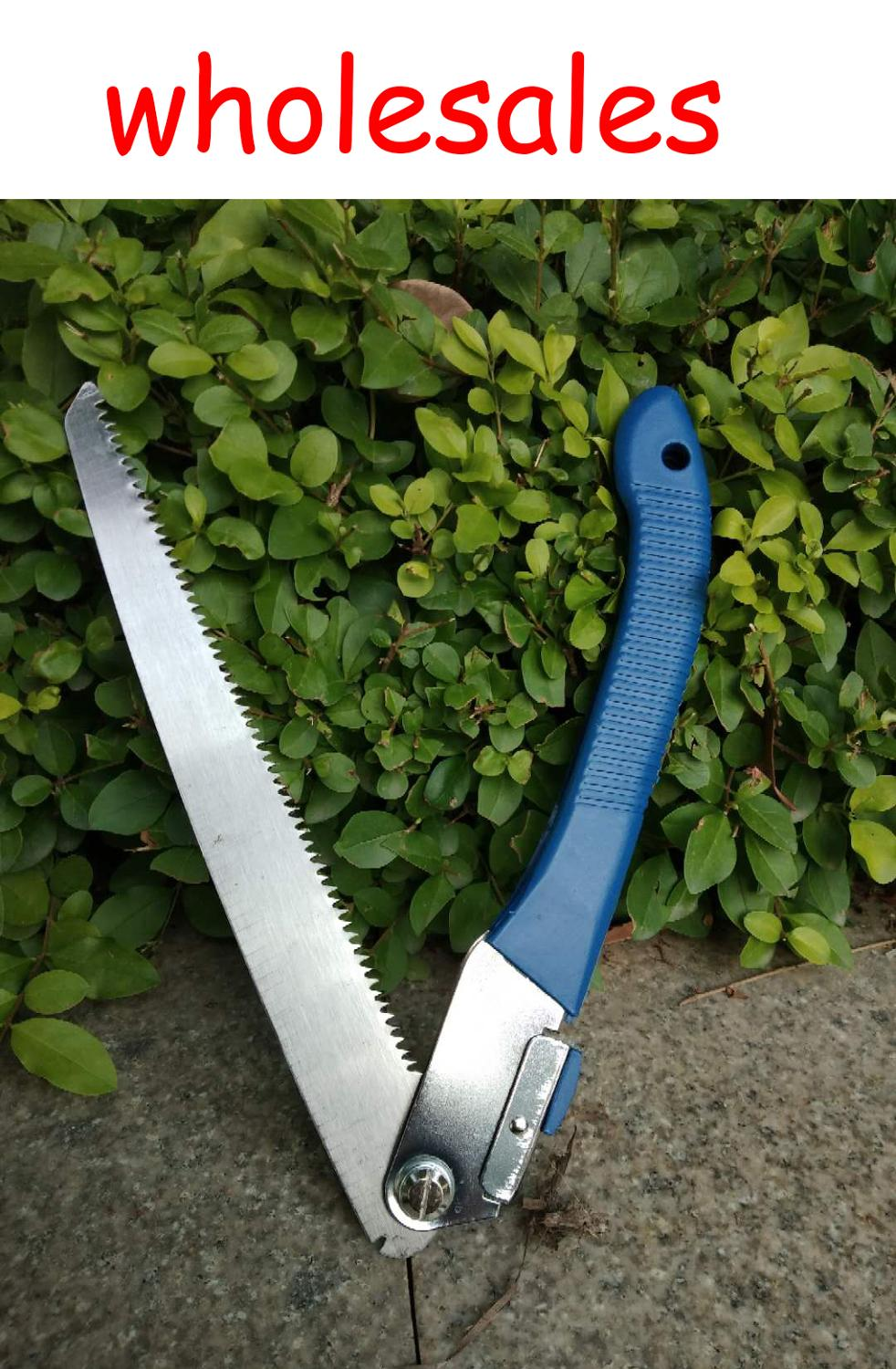 Mini Portable Garden Folding Saw Pruning Household Garden Had Steel Sawing Sawing Tools Woodworking Hacksaws Home Tool