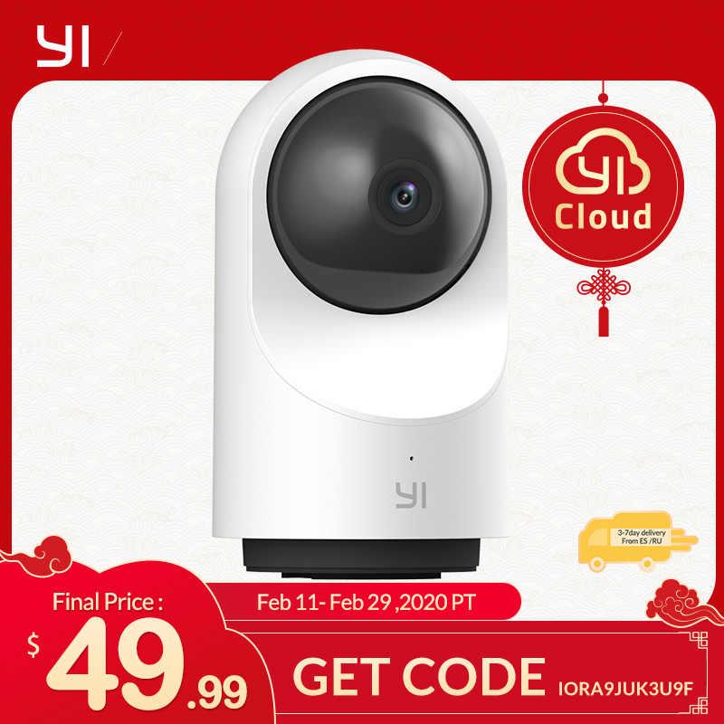 Kamera kopułkowa YI X 1080P Full HD oparty na AI dwukierunkowy dźwięk bezpieczeństwo kamera ip wykrywanie ludzi/zwierząt noktowizor obsługa karty SD/YI Cloud