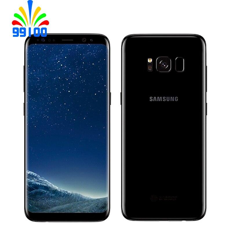 """Desbloqueado teléfono celular Samsung Galaxy S8 + S8 más G955F/U Qualcomm 835 solo/dual Sim 4GB + 64GB 6,2 """"Pantalla reformado las condiciones"""