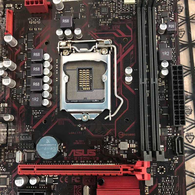 LGA1151 ASUS EX-B150M-V3 anakart DDR4 USB3.0 PCI-E3.0 SATA3.0 32GB B150 ASUS EX-B150M-V3 orijinal kullanılan masaüstü anakart
