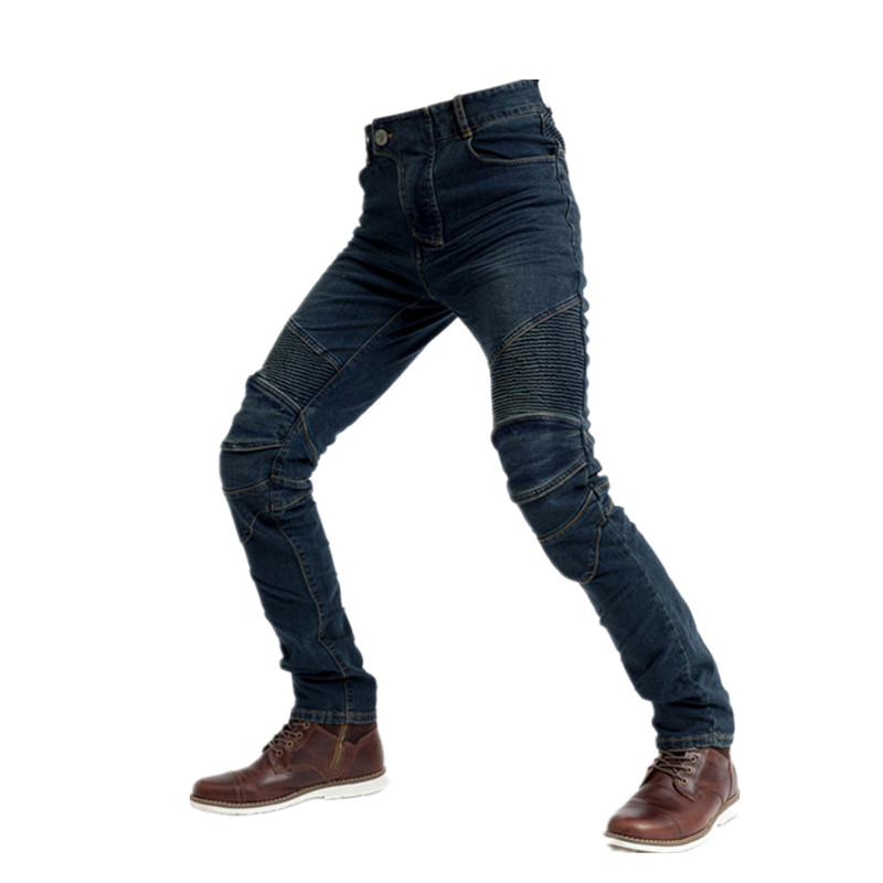 Motorcycle jeans Anti-fall outdoor riding jeans Motorcycle Pants men and women motorcycle Racing Jeans with knee Pads
