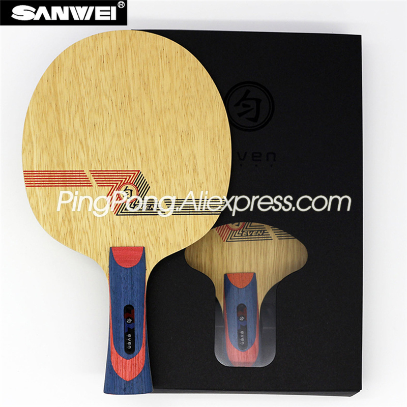 SANWEI WHITE EVEN 19 Ply BY-1091 Table Tennis Blade (10+9 Ply Carbon) Original SANWEI Racket Ping Pong Bat Paddle