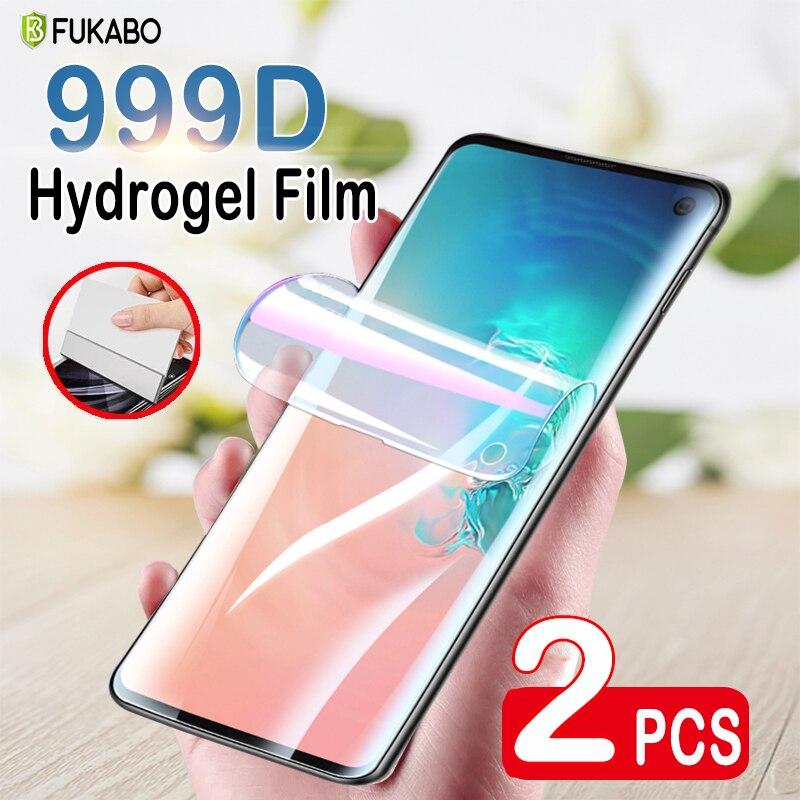 Pellicola protettiva per idrogel a copertura totale 2 pezzi su Samsung Galaxy Note 8 9 10 Lite 20 Ultra pellicola salvaschermo per A51 A71 S8 S9 S10 Plus non in vetro