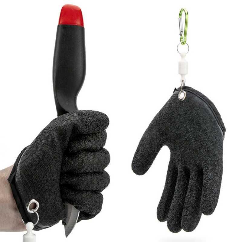 Anti-slip Professionelle Angeln Handschuh Punktion Beständig Handschuhe