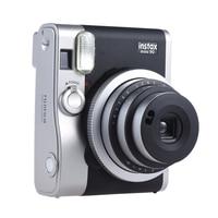 Fujifilm Instax Mini 90 Neo Classic Instant Camera Photo Film Cam w/ LCD Screen Support Double Exposure B Shutter Timed Selfie