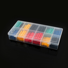 280pcs Thermoresistant tube Shrink tubing Kit, Insulation Polyolefin Wire Cable Tubing 2:1 Heat Shrink wrapping Assorted box