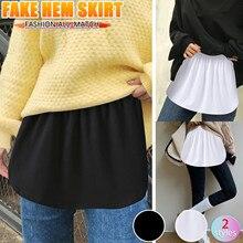Skirt Tiered Printing Casualmini Women's Plus-Size Extender Half-Slip Sheer -G Plaidskirtwomenschoolgirls