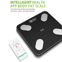 USB Rechargeable ligent Digital Body Fat Scale Electronic Weighing Scale with 59 Item Data Connection Voice Broadcast